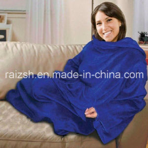 Polar Fleece Snuggie Blanket
