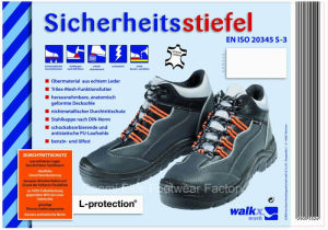 CE Approved S3 Standard Safety Shoe