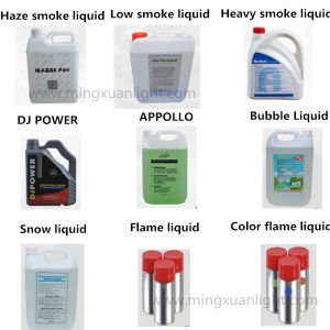 Stage Smoke Liquid Apollo Fog Oil for Smoke Machine pictures & photos