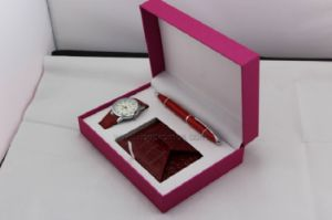 Girl Gift Purse, Pen Watch Set pictures & photos