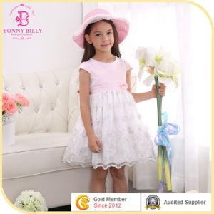 China Fashion Design Kids Party Dress Little Girl Wedding Prom