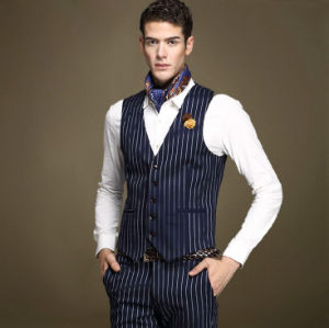 Custom New Design Formal Fashion Men′s Waistcoat