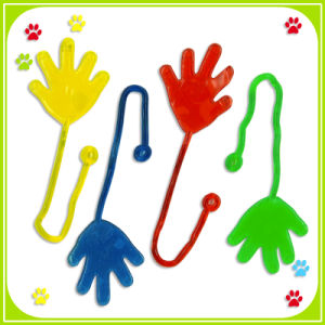 Plastic Promotion Sticky Hand Toy