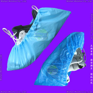Disposable Poly Shoe Cover pictures & photos