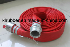 PU/Rubber/EPDM Lining Fire Hose with Bsp Coupig pictures & photos