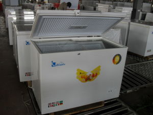 Chest Freezer with Top Open Door Deep Freezer (BDBC-300) pictures & photos