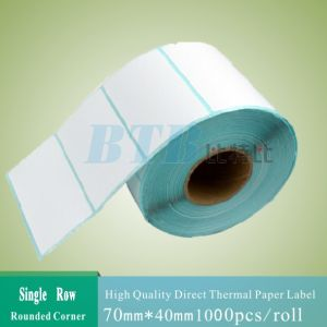 Blank Direct Thermal Labels Roll for Zebra Printer