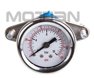 "1.5"" Glycerine Filled Stainless Steel Pressure Gauge with U-Shaped Table"