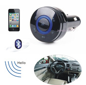 Bluetooth and FM Transmitter Car Kit with Car Charger #059