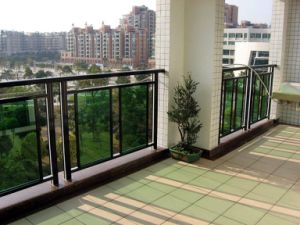 Aluminium Profile Glass Fence pictures & photos