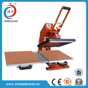 Double Working Position Manual Auto-Open T Shirt Heat Transfer Machine Heat Press Machine Made in China Digital Heat Press