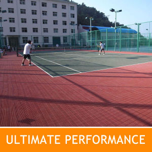 China Tennis Court Modular Interlocking Floor China Tennis Floor