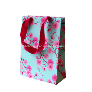 Handled Cardboard Shopping Bags Printing pictures & photos