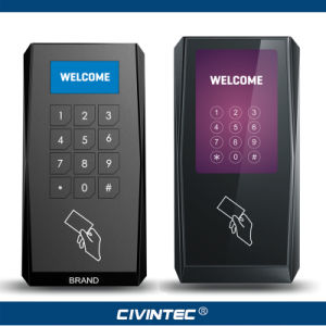 OEM RS485 Osdp RFID Smart Card Access Control Reader with One or More Sams for Secure Data Encryption