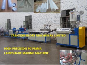 High Output PC Profile PC Lamp Shade Extruding Machine