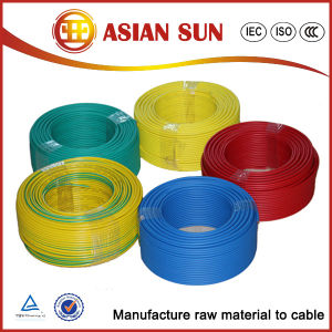 Self-Supporting 450/750V PVC Insulation Electrical Cable pictures & photos
