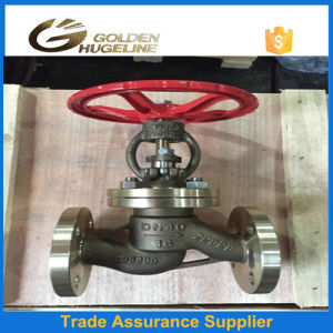 Dn40 DIN Standard Flange End Pn16 Globe Valve pictures & photos