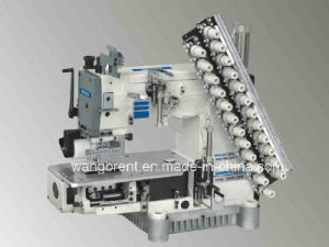 High Speed Multi-Needle Cylinder Bed Double Chain Stitch Machine