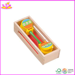 2014 Best Selling Wooden Castanet Toy, New and Popular Wooden Castanets Toy, Mini Kids Wooden Castanets Toy W07I038 pictures & photos