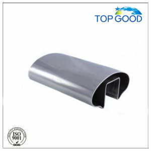 Stainless Steel Oval Channel Tube/Slot Tube with High Quality (51100)