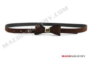 Fashion Skinny PU Belt (Maco339)