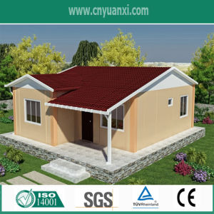 80m² Light Steel Villa with Steel Structure and Insulation