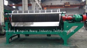 Removal of Strong Magnetic Minerals From Non-Magnetic Minerals by Permanent Magnetic Drum Magnetic Separator pictures & photos
