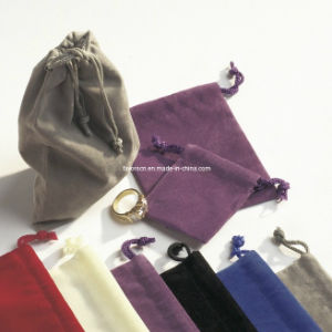 Fashion Velvet Bag for Cosmetic Packing / Velvet Pouch pictures & photos