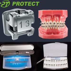 Hot Sale Dental Orthodontic Self-Ligating Metal Bracket with CE/FDA/ISO Certificate