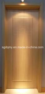 Interior Usage Melamine HDF Door with Frame