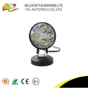 12W Round LED Light for Car Truck pictures & photos