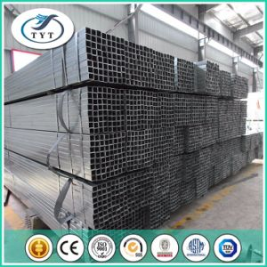 Pre-Galvanized Square Steel Tube Tianjin China pictures & photos
