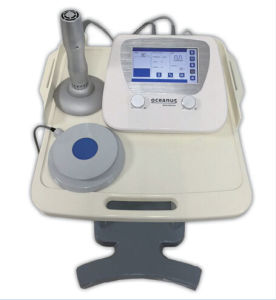 Eletromagnetic Shock Wave Therapy Device for Chronic Muscular and Joint Pain, Physiotherapy Equipment for Low Back Pain