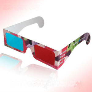 OEM New Design Creative Paper 3D Glasses pictures & photos