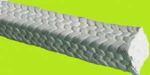 Pure White PTFE Braided Packing