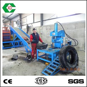 High Efficiency Scrap Tire Recycled Plant Tire Cutter pictures & photos