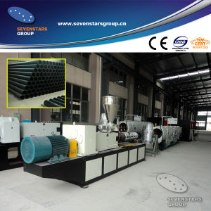 New Type PE Pipe Extrusion Line/LDPE Pipe Making Machine pictures & photos