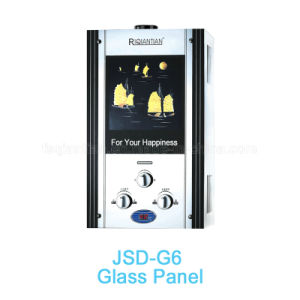 Glass Panel Gas Water Heater