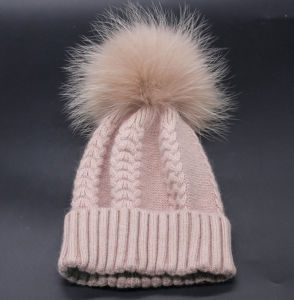 Wholesale Winter and Autumn Warm Wool Jersey Crimping Women′s Hat