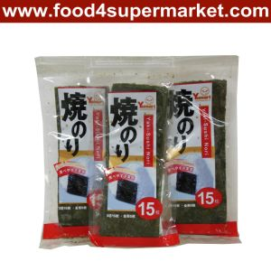 Sushi Nori 1/7 Cut 50 Sheet pictures & photos