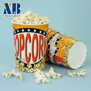 46oz Hot Sales Paper Popcorn Bucket