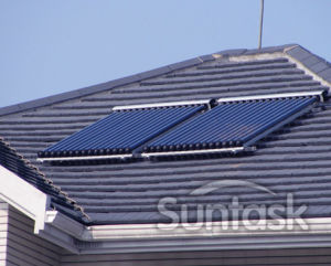 Scm Solar china solar collector for solar central heating scm sfm sr and su