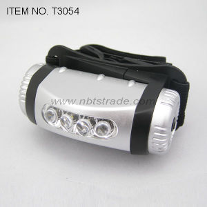4 LED Headlamp with Flash Light (T3054)