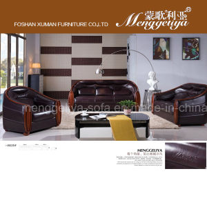 Top Grain Leather Classic Sofa (6828#)