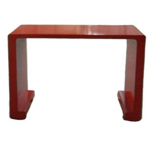 Antique Elm Wood Red Table Lwd004 pictures & photos