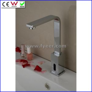 Fyeer High Quality Solid Brass Cold Only Sensor Tap (QH0143) pictures & photos