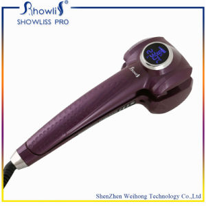 Black Hair Curl Newest OEM Styler Hair Salon Equipment with CE and RoHS Certification Tourmaline Material Showliss LCD Mag Showliss Curler Hair