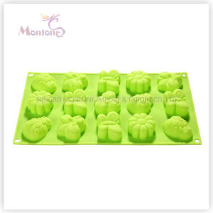 FDA & LFGB Bakeware Baking 15-Insects-Shaped Silicone Cake Mold pictures & photos