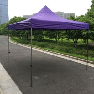 3X3m Purple Top Outdoor Folding Canopy Pop up Gazebo pictures & photos