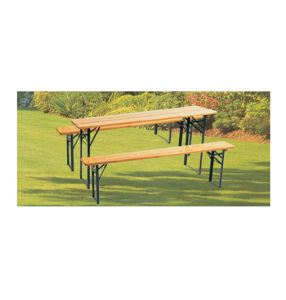China Beer Table Set, Foldable Table and Benches Set - China Beer ...